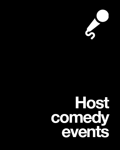 Host Comedy Events